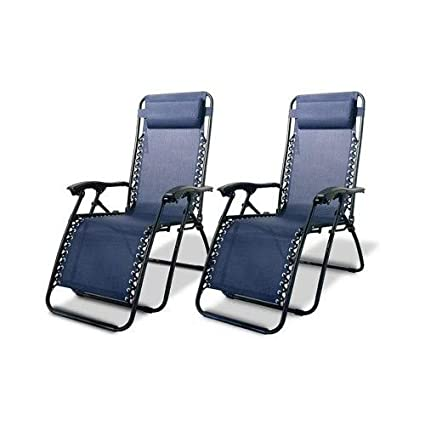 Amazon.com: Lounge chairs-zero Gravedad Sillas Caso de (2 ...
