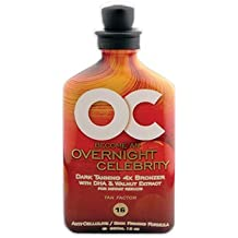 Oc Overnight Celebrity 4x Bronzers Tanning Lotion