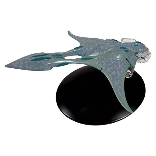 Star Trek Xindi-Aquatic Cruiser Model with Magazine #65 by Eaglemoss .HN#GG_634T6344 G134548TY25768 ()