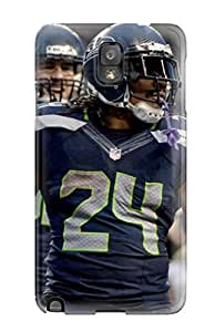 First-class Case Cover For Galaxy Note 3 Dual Protection Cover Seattleeahawks