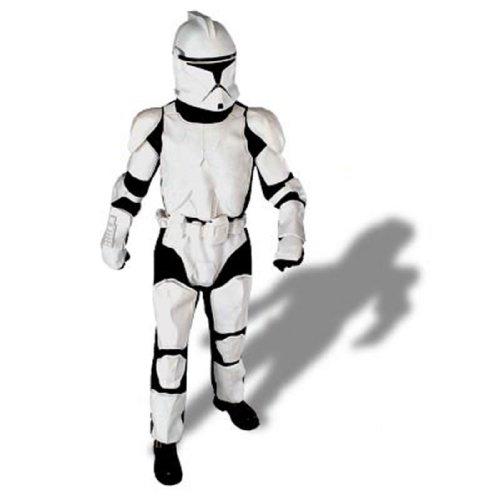 Boy's Deluxe Star Wars Clone Trooper Costume -