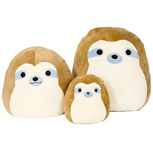 Squishmallow Kellytoy 13'' Simon The Sloth Super Soft Plush Toy Pillow Pet Pal Buddy