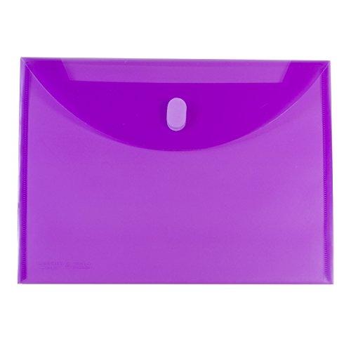Velcro Envelope Closure (C-Line Reusable Poly Envelope, Side Loading, Letter Size, 1 Envelope, Color May Vary (58000))