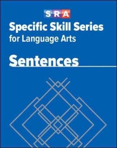 Specific Skill Series for Language Arts - Sentences Book - Level E