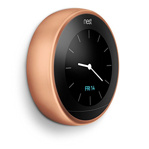 Nest learning thermostat easy temperature control for every room in your house copper third - Nest thermostat stylish home temperature control ...