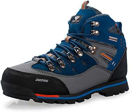 男性のためのプロマウンテンアウトドアハイキングシューズ、毛皮ハイキングブーツの追加、ウォーキング、ウォームトレーニングトレッキングシューズ