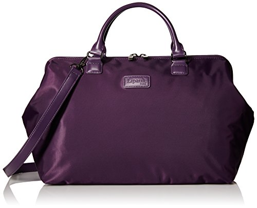 lipault-bowling-bag-l-purple-one-size