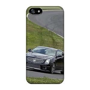 AlissaDubois Iphone 5/5s Shockproof Hard Phone Covers Custom High-definition Cadillac Cts V Skin [mKY17163exSU]