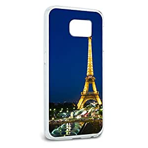 Paris - Eiffel Tower at Night Snap On Hard Protective Case for Samsung Galaxy S6