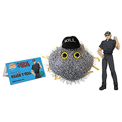 GIANTmicrobes Cells at Work! Killer T Cell Plush: Toys & Games
