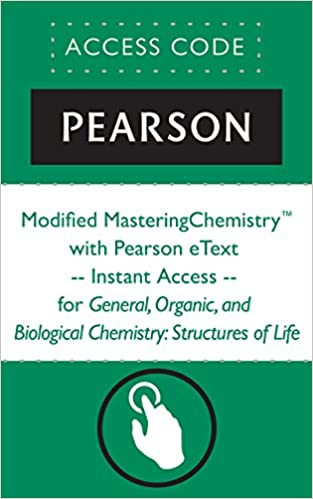 Amazon modified masteringchemistry with pearson etext modified masteringchemistry with pearson etext instant access for general organic and biological chemistry structures of life 4th edition fandeluxe Images
