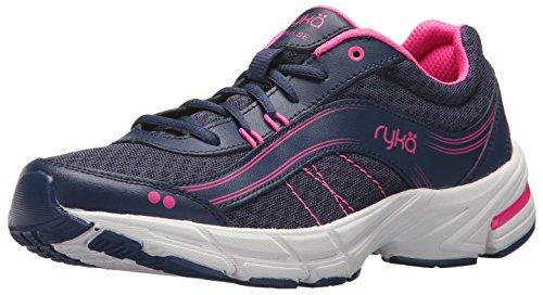 Ryka Women's Impulse Walking Shoe, Blue/Pink, 8.5 M US