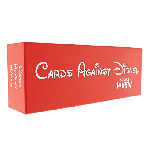 Cards Against Dizny The Table Cards Game Party Cards Game for Adult (Red Box)