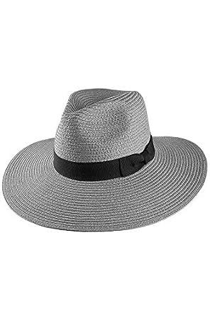 Olive /& Pique Wide Brim Panama Straw Hat F81622