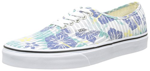 Vans Authentic - Zapatillas, Unisex adulto Multicolor (aloha Stripes/true Blue/true White)