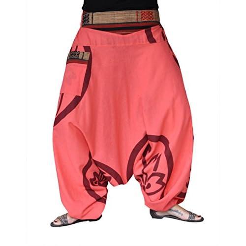 399943f027d1 alta calidad Pantalones bombachos hombre y mujer virblatt con tejidos  tradicionales talla única pantalones cagados con