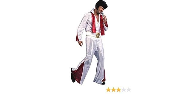 Fyasa 706061-txl Elvis Disfraz, talla XL: Amazon.es: Juguetes y juegos