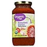 Pack of 2 - Great Value Organic Roasted Garlic Pasta Sauce, 23.5 oz