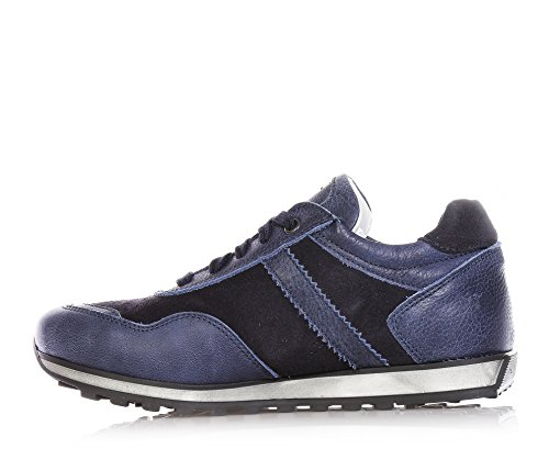 4US ,  Jungen Niedrige Sneaker , blau - blau - Größe: 30