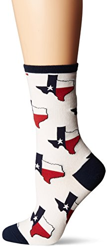 Socksmith Women's Texas White Sock