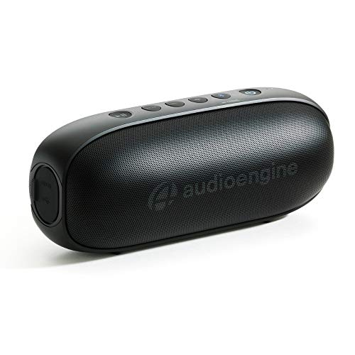Audioengine 512 Portable Bluetooth Speaker, BT Wireless Speaker (Black)