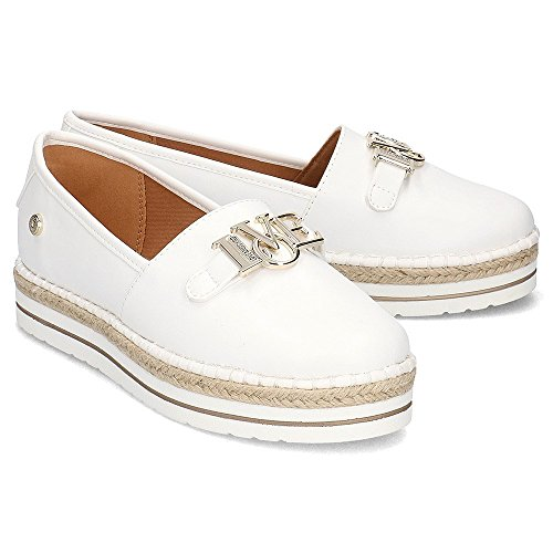 Shoes Love Love Womens Moschino White White Espadrille Moschino Love SznZY