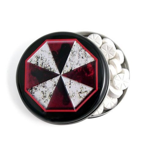 Umbrella Corporation Resident Evil Mints