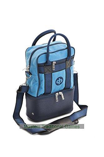 Drakes Pride Nylon Micro Double Decker Bag – Petrol (holds 2 bowls)