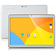 9.7 inch Tablet Octa Core 2560X1600 IPS Bluetooth 4GB RAM 64GB ROM 8.0MP 3G MTK6592 Dual sim card Phone Call Tablets PC Android 5.1 Lollipop GPS electronics 7 8 9 10 White