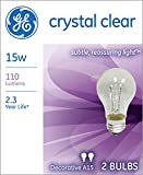 GE Lighting Crystal Clear Incandescent A15 Light