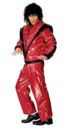 [80s Bad Boy Adult Costume] (Mj Thriller Halloween Costume)