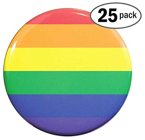 Henry the Buttonsmith Rainbow Flag 1.25