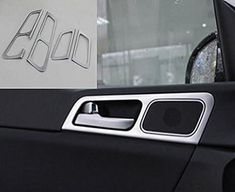 Plata Tuning revestimiento interior puerta Piezas: Amazon.es: Coche y moto