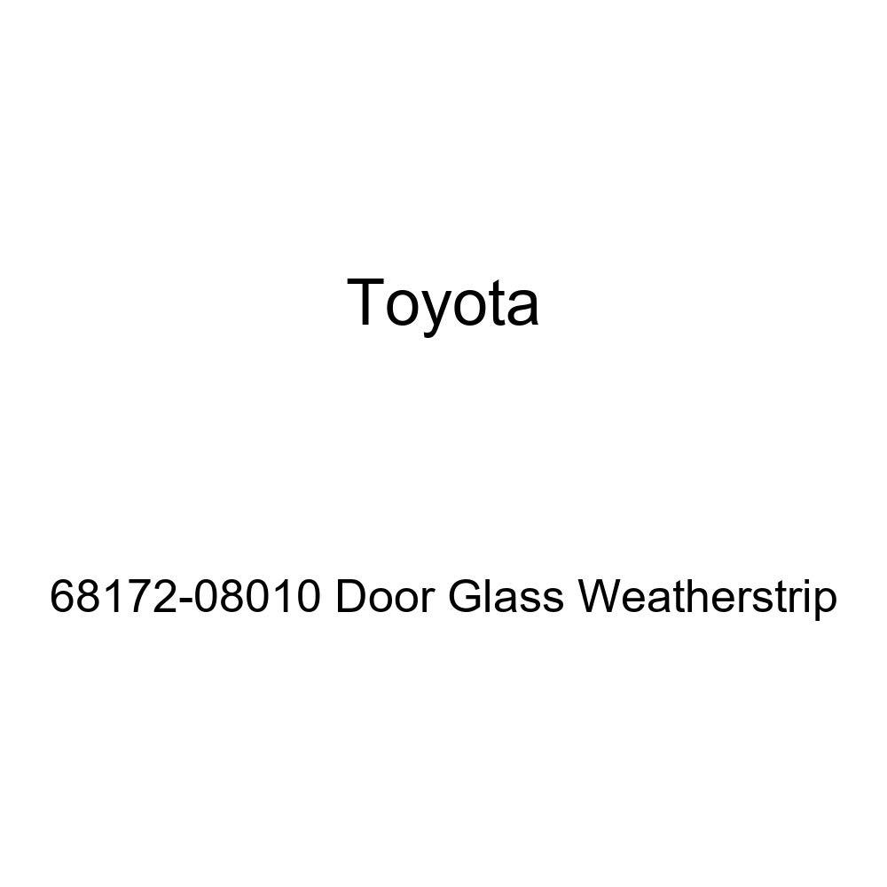 TOYOTA Genuine 68172-08010 Door Glass Weatherstrip