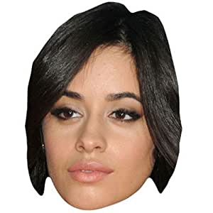 Amazon.com: Camila Cabello Celebrity Mask, Card Face and Fancy Dress Mask: Home & Kitchen