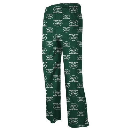 NFL Youth New York Jets All Over Logo Printed Pant, 14/16 - Large