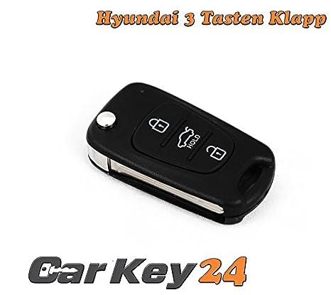 Hyundai i10 i20 i30 ix35 ix20 Elantra Carcasa para llave de ...