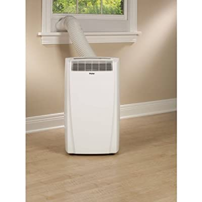 White, Portable Air Conditioner With 10,000 BTU