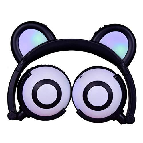 Insaneness Kids Over-Ear Headphones Cat Ear LED On Ear Folda