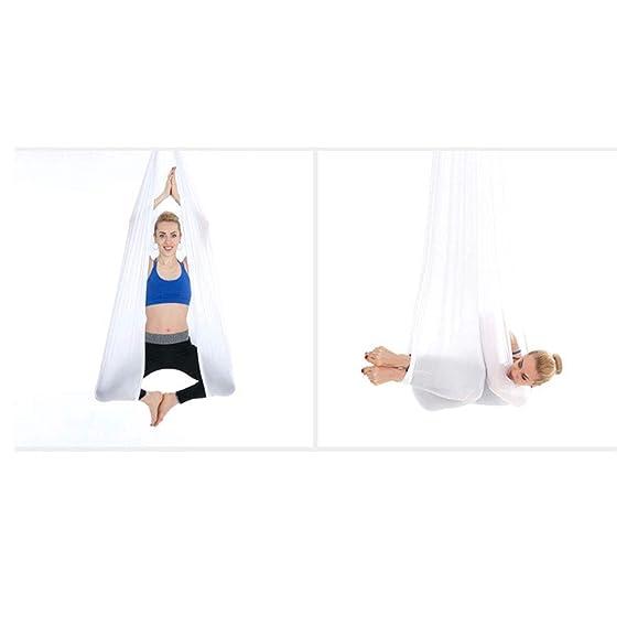 YUNQI Yoga Hamaca Trapeze Sling Kit con Correas de extensión ...