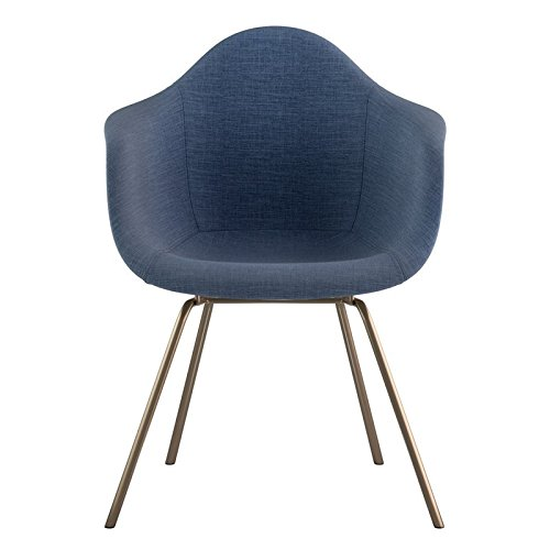 NyeKoncept 332006CL2 Mid Century Classroom Arm Chair, Dodger Blue from NyeKoncept