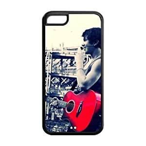 Diystore Austin Mahone iPhone 5C Case Popular Star Austin Mahone Silicon iPhone 5C Case Cover