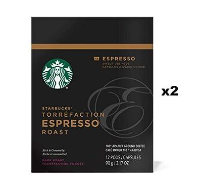 Starbucks Verismo Espresso Roast Espresso Pods (24 Count)