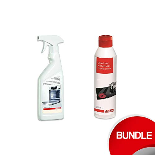 Miele stainless steel and oven cleaner bundle