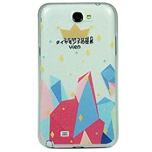 NEW Crown Pattern Hard Case for Samsung Galaxy Note 2 N7100