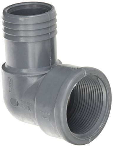 Genova Products 353915 Combination Elbow (Ins x Fip) Pipe Fitting, 1 1/2
