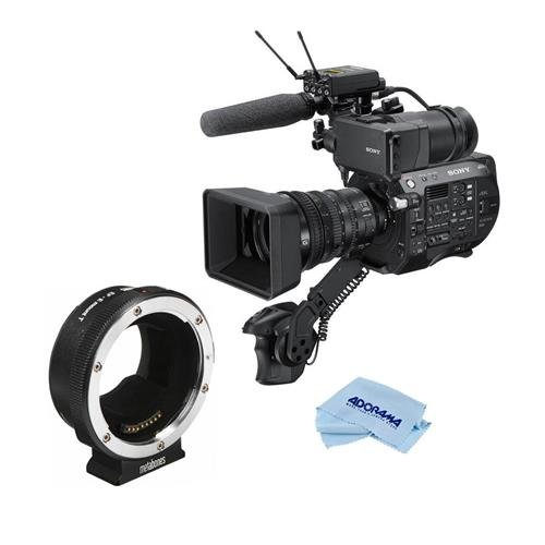 Sony PXW-FS7 II 4K XDCAM Super 35 Camcorder Kit with 18-110mm Zoom Lens - Bundle with Metabones Canon EF|EF-S Lens to E Mount T Smart Adapter, Microfiber Cloth