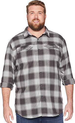 Columbia Men's Silver Ridge Flannel Big & Tall Long Sleeve S