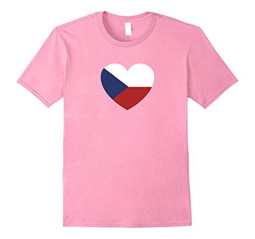 Czech Republic Flag Heart - 3