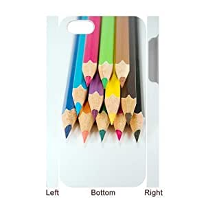 ALICASE Diy 3D Protection Hard Case Colored Pencil For Iphone 5C [Pattern-1]